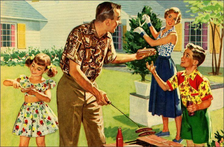 Family Cookout (via Pinterest)